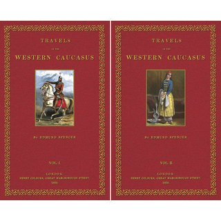 Spencer: Travels in the  Western Caucasus - 1 and 2