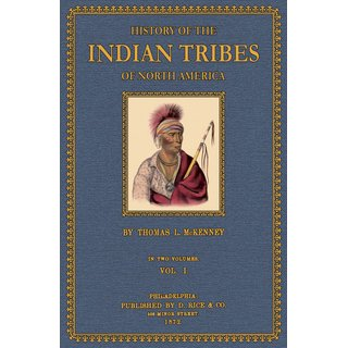 McKenney / Hall: History of the Indian Tribes of North America - 1