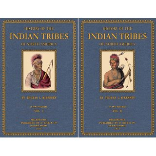 History of the Indian Tribes of North America - 1 and 2