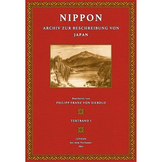 Siebold, von: Nippon Japan - Text - 1