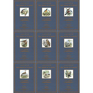 Dresser: A History of the Birds of Europe - 1 to 9