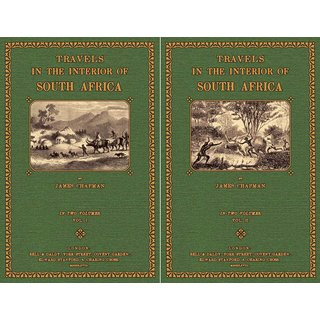 Chapman, James: Travels in South Africa 1 und 2