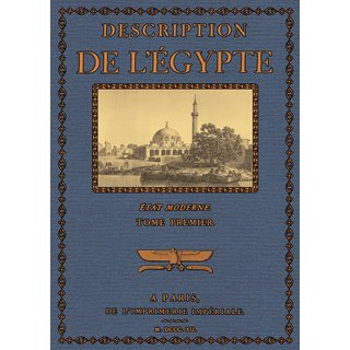Description de lEgypte - Etat Moderne,Textes 1