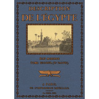 Description de lEgypte - Etat Moderne,Textes 2.2