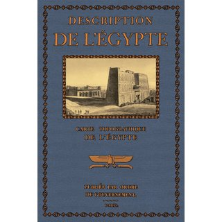 Description de lEgypte - Carte topographique de l  Egypte