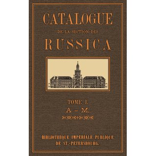 Catalogue  des  Russica - 1